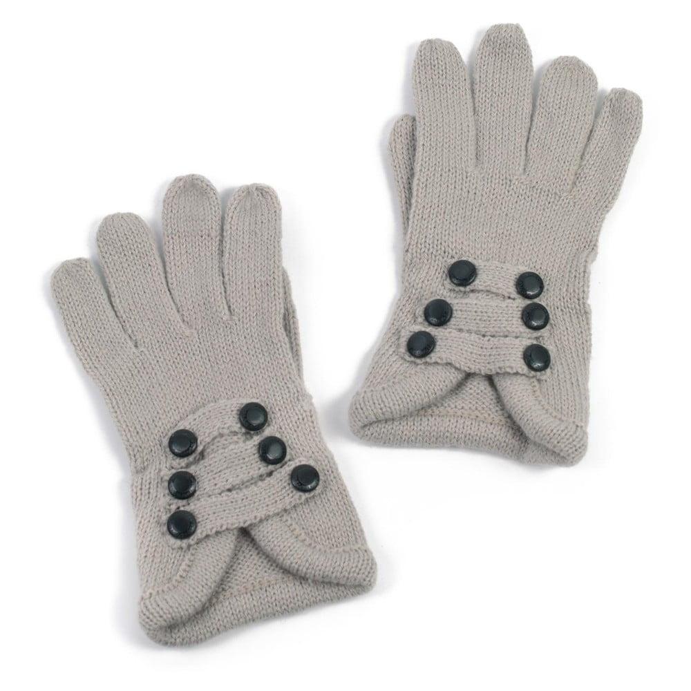 9a76126e40c Světle šedé dámské rukavice Art of Polo Pamela