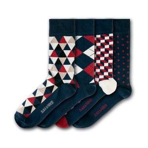 Sada 4 ponožek Black&Parker London Holker Hall, velikost 37 – 43