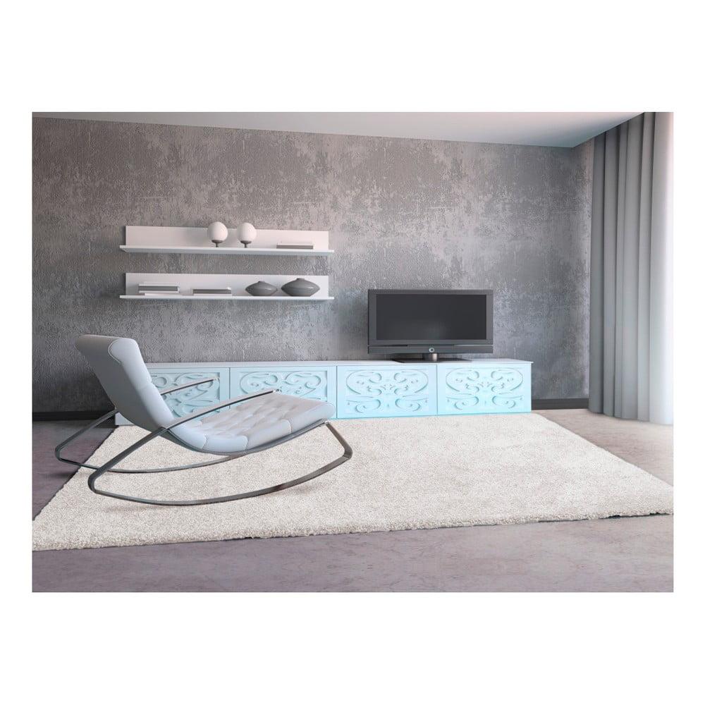Produktové foto Krémově bílý koberec Universal Aqua Liso, 67 x 125 cm
