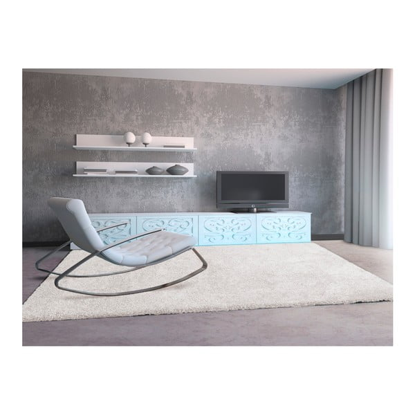 Bílý koberec Universal Aqua, 100x150cm