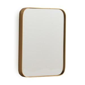 Nástěnné zrcadlo ve zlaté barvě Geese Pure, 60x80cm
