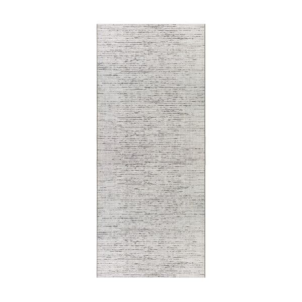 Krémovo-béžový běhoun vhodný do exteriéru Elle Decor Curious Laval, 77 x 200 cm