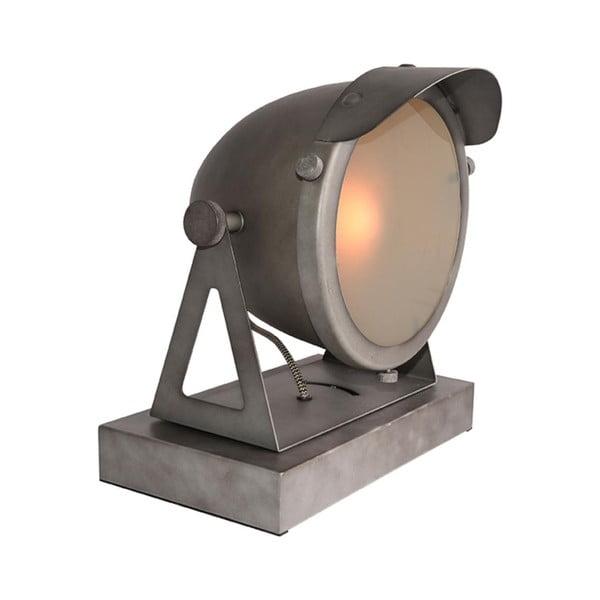 Šedá stolní lampa LABEL51 Cap