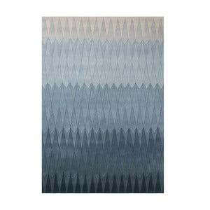 Vlněný koberec Acacia Blue, 140x200 cm