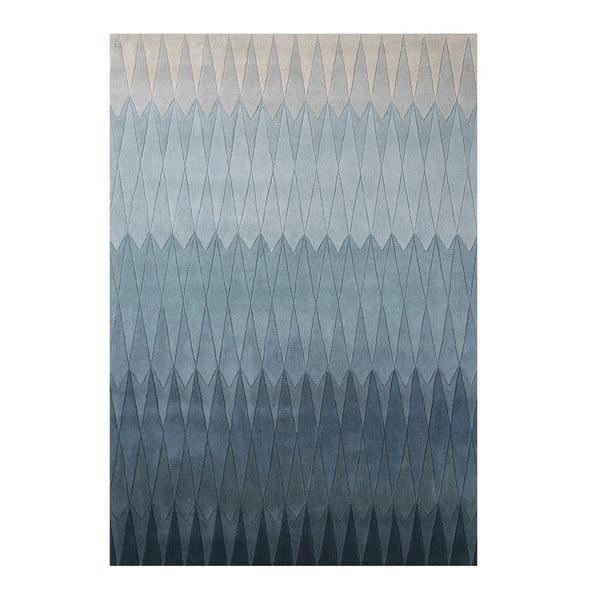 Vlněný koberec Linie Design Acacia Blue, 170x240cm