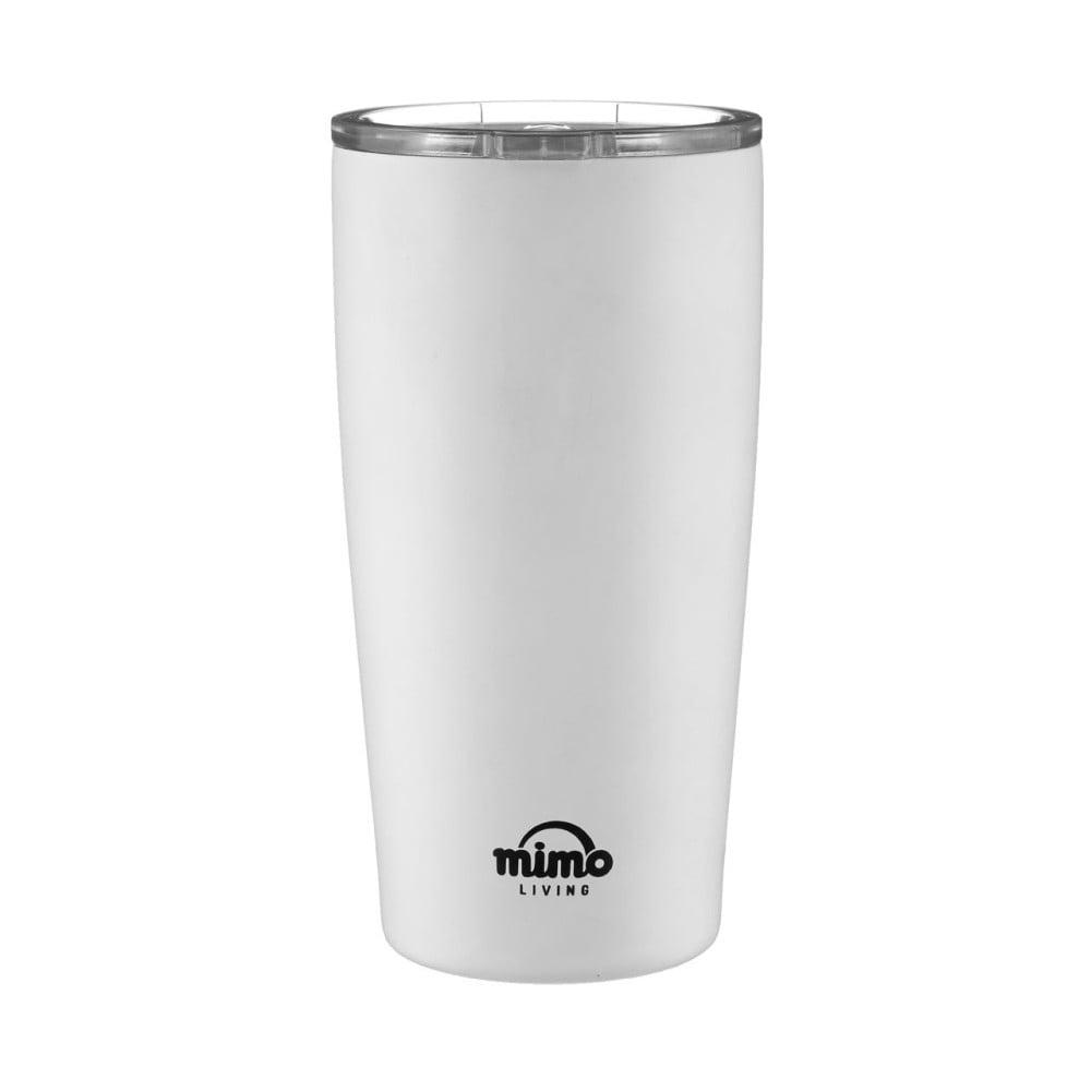 Bílý nerezový termohrnek Premier Housewares Mimo,550ml Premier Housewares