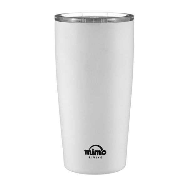 Pahar termos de voiaj Premier Housewares Travel, 550 ml, alb