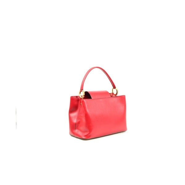 Kožená kabelka Sophia, červená