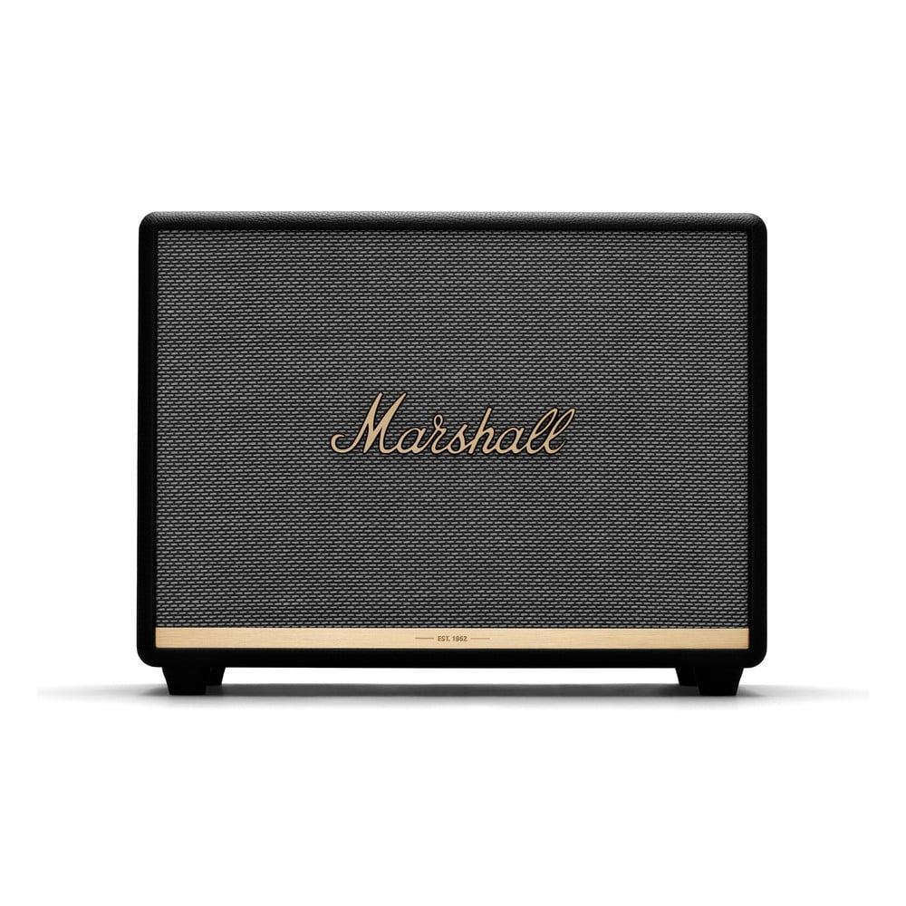 Černý reproduktor s Bluetooth připojením Marshall Woburn II