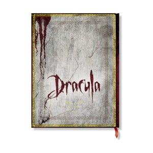 Zápisník s tvrdou vazbou Paperblanks Dracula, 18x23cm