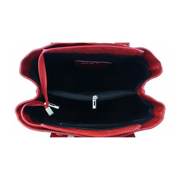 Kožená kabelka Bonita Rosso