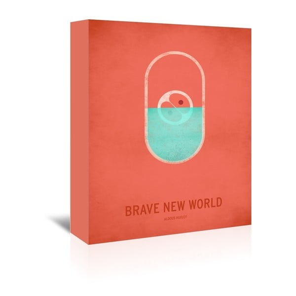Obraz na plátně Brave New World od Christiana Jacksona