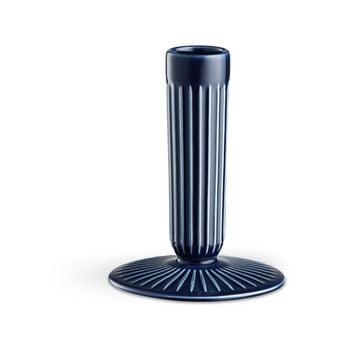 Sfeșnic din ceramică Kähler Design Hammershoi, înălțime 12 cm, albastru închis de la Kähler Design