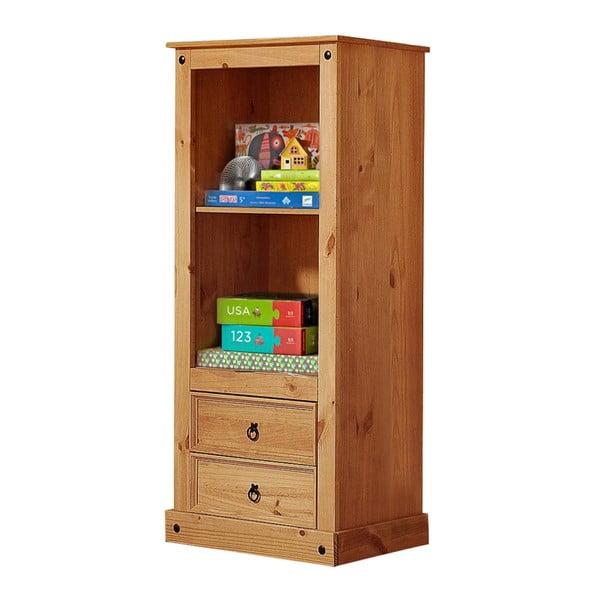 Knihovna se zásuvkami z borovicového dřeva Støraa Alfredo