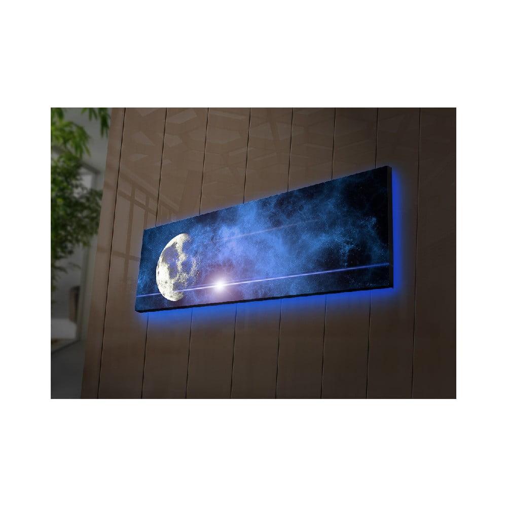 Podsvícený obraz Ledda Universe, 90 x 30 cm