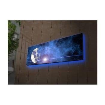 Tablou cu LED-uri Boreas, 90 x 30 cm imagine