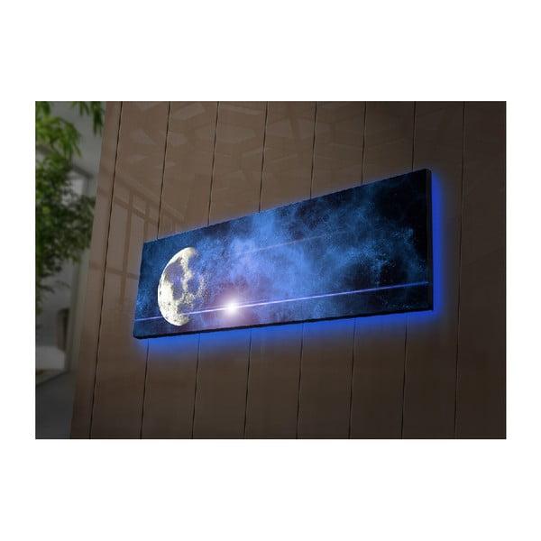Podsvícený obraz Boreas, 90x30cm