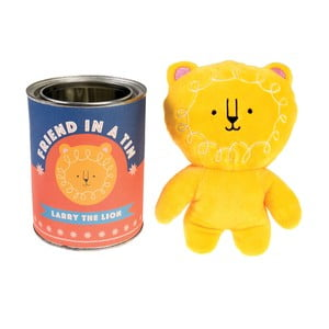 Plyšová hračka v plechové krabičce Rex London Larry The Lion