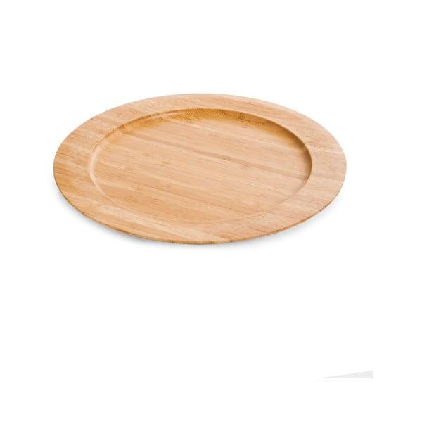 Bambusový talíř Bambum Gastro, ø 28 cm
