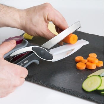 Cuțit/Foarfecă bucătărie InnovaGoods imagine