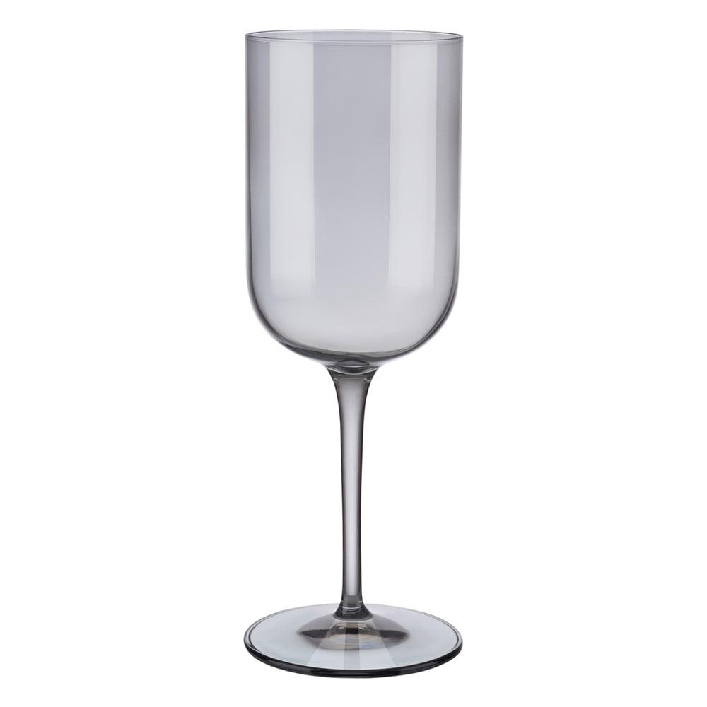 Sada 4 šedých sklenic na červené víno Blomus Mira, 400 ml
