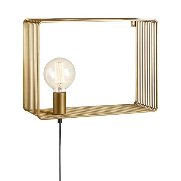 Aplică perete Markslöjd Shelf Wall Gold, auriu