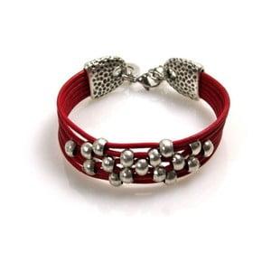 Náramek Pearls, červený