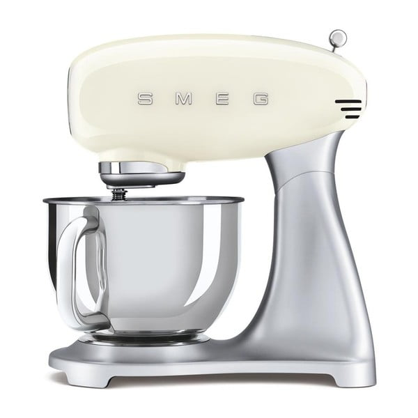 Krémově bílý kuchyňský robot SMEG