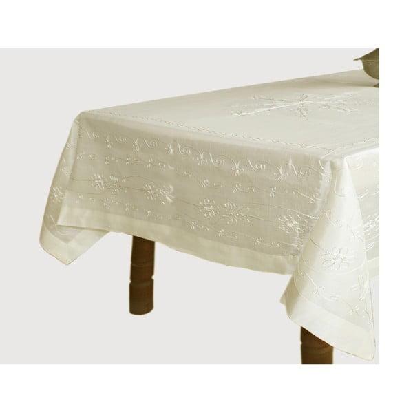Ubrus Silky Natural, 160x160 cm