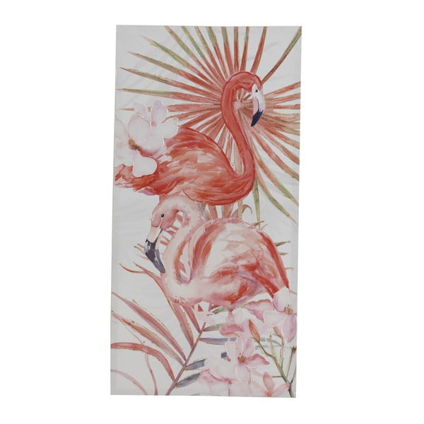 Obraz na płótnie Geese Modern Style Flamingo Dos, 60x120 cm