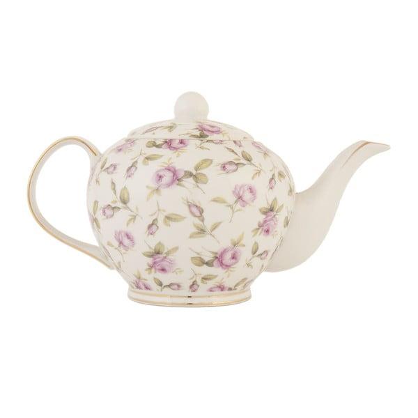 Čajová konvice s růžičkami Roses, 750 ml