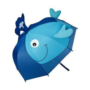 Dětský holový deštník Von Lilienfeld Whale, ø 73 cm