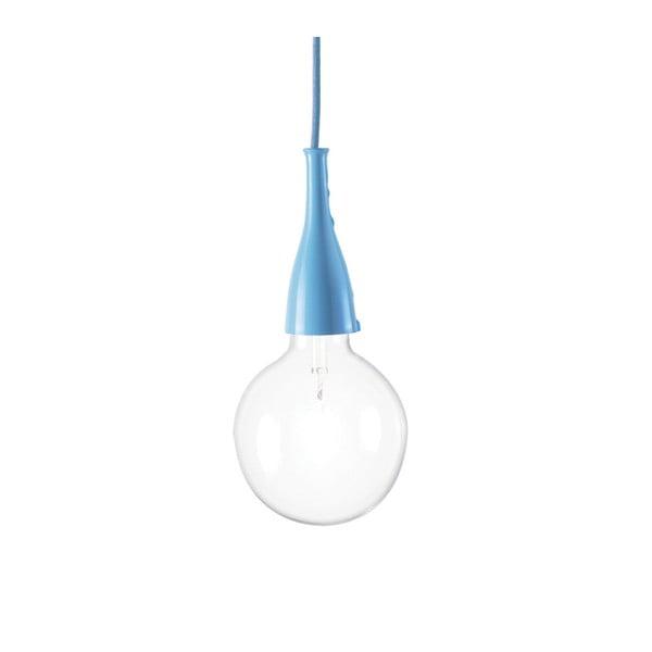 Modré závěsné svítidlo Evergreen Lights Marina