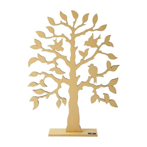 Dekorativní strom, žlutý