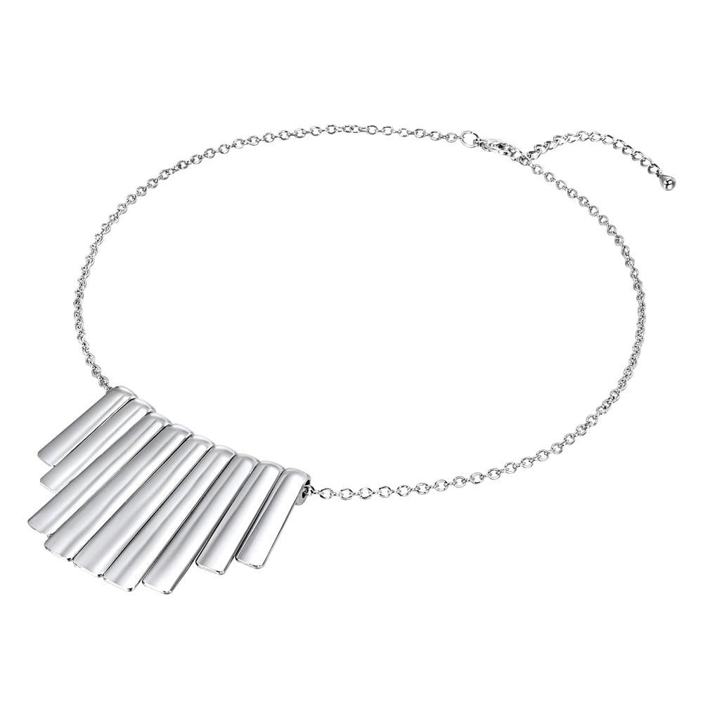 Dámský náhrdelník stříbrné barvy Runaway Instrument