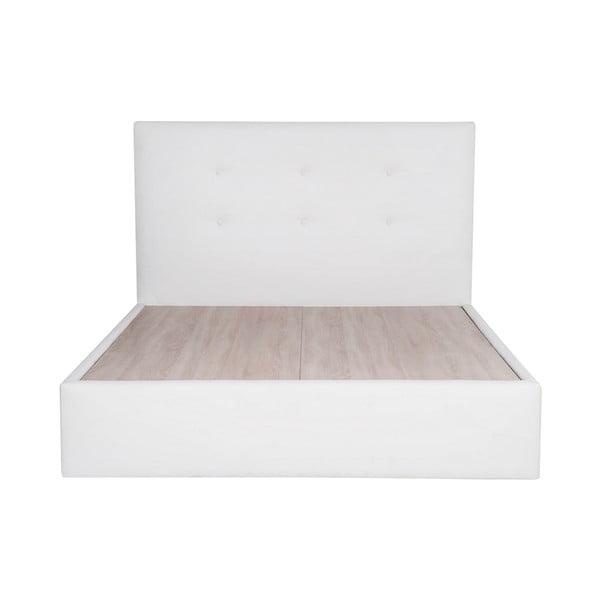 Postel Mousse 160x200 cm, bílá