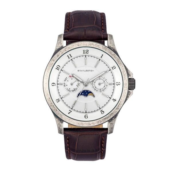 Pánské hodinky Harstad Moonphase Dark Brown