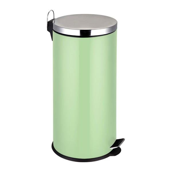 Jasnozielony kosz na śmieci Premier Housewares, 30 l