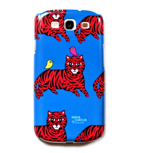 Obal na Samsung Galaxy S3 Jalebi Tiger-with-Birds