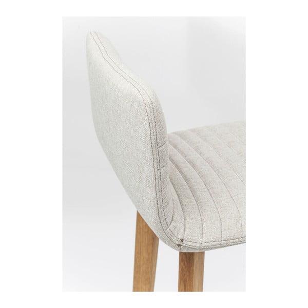 Sada 2 krémových barových stoliček Kare Design Lara
