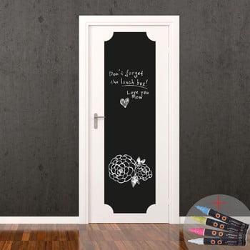 Set autocolant tip tablă de scris și cretă lichidă Ambiance Giant Chalkboard de la Ambiance