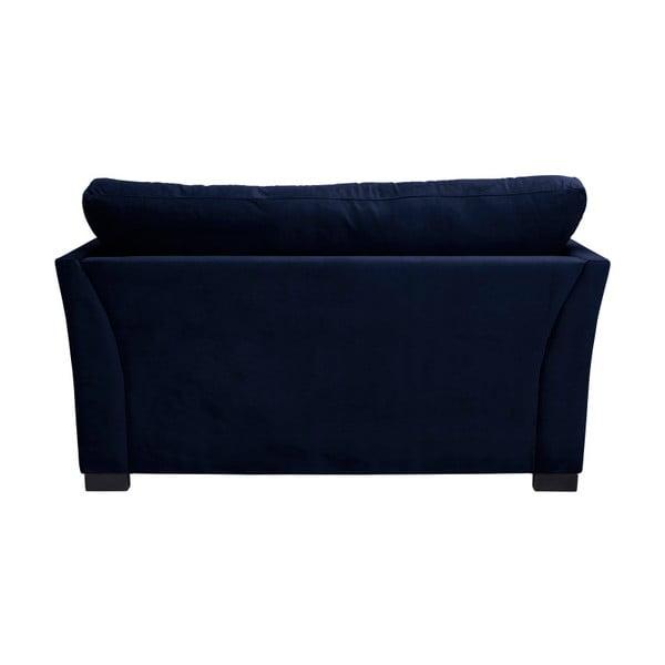 Modrá dvoumístná pohovka THE CLASSIC LIVING Pierre