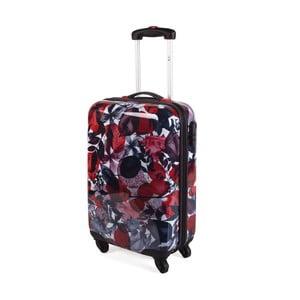Barevný cestovní kufr SKPA-T Leaves
