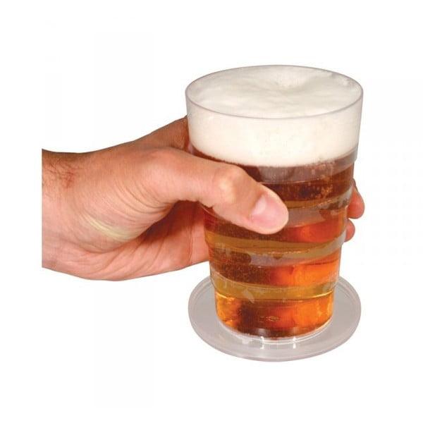 Teleskopická sklenice na pivo
