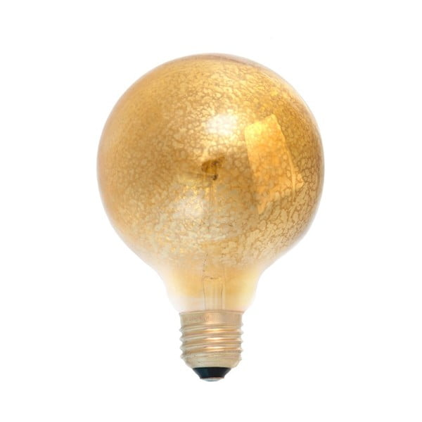 Wolframová dekorativní  žárovka Gold Globe, 40W