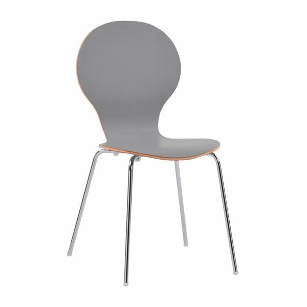 Světle šedá jídelní židle Folke Fusion