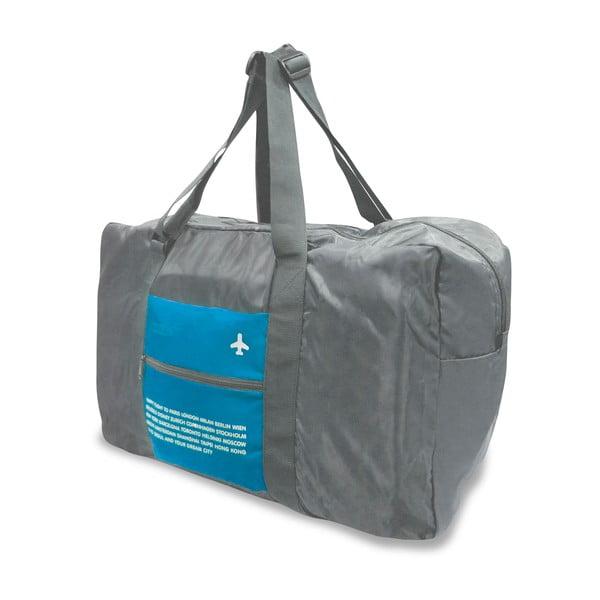 Cestovní skládací taška, Modrá