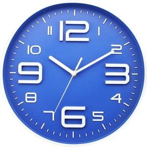Hodiny Blue Dial, 35 cm