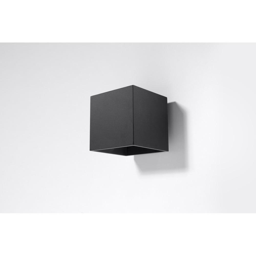 Černé nástěnné světlo Nice Lamps Geo