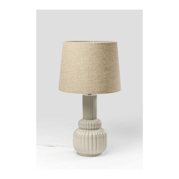Šedá stolní lampa Kare Design Cosy